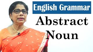 Learn English Grammar for kids | Abstract Noun | Basic English Grammar