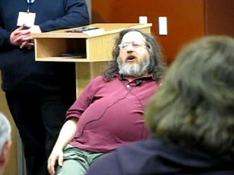 Richard Stallman explains iBads and Cell Phones