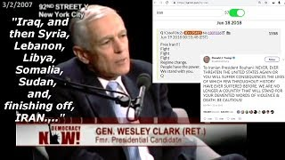 Video: US Wars Planned: 7 Countries, 5 Years - Wesley Clark