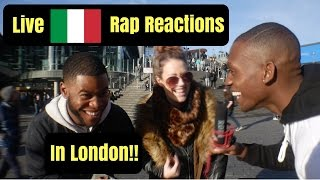 English reacting to Madman, Vegas Jones and Laioung in London MADDDDD!