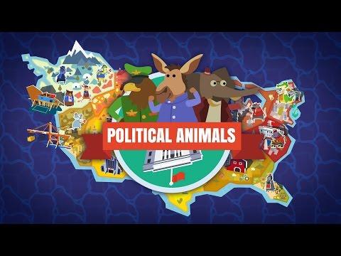 Landslide Election! - Part 2 - Let's Play Political Animals Gameplay