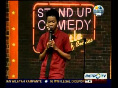 Yudha KELING Stand Up Comedy Saingan terberat Raditya Dika Part 2