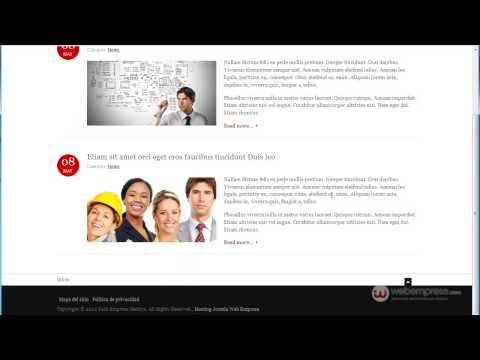 Pack webempresa multi-idioma