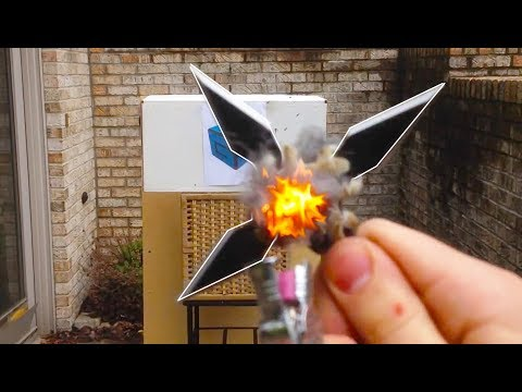 Incendiary Shuriken Ninja Star
