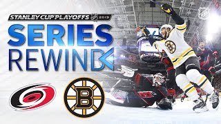 SERIES REWIND: Bruins sweep Hurricanes to advance to Stanley Cup Final