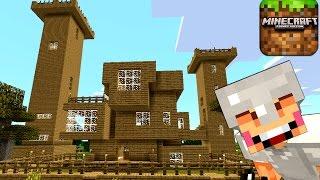 Игра Minecraft на русском. Выживание в Майнкрафте Покет Эдишн на Планшете. Кока Плей