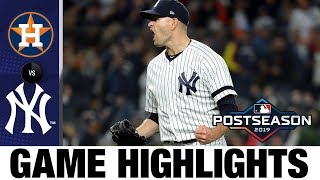 Aaron Hicks' HR, James Paxton's gem keep Yankees alive (ALCS Game 5) | Astros-Yankees MLB Highlights