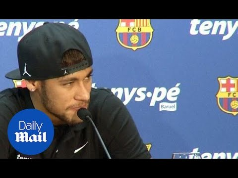 Neymar Jnr. commits his future to Barcelona - Daily Mail