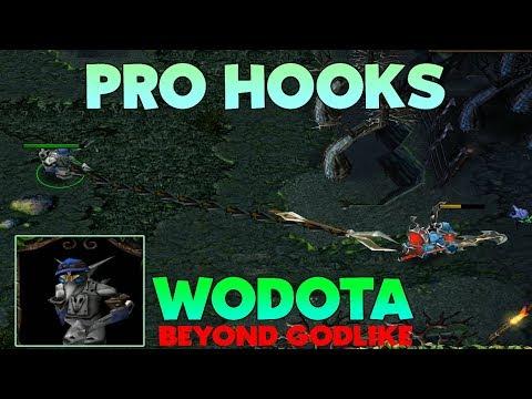 DOTA CLOCKWERK PRO HOOKS! (BEYOND GODLIKE - WODOTA)