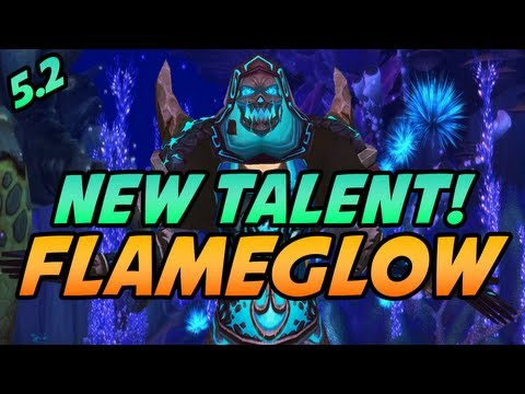 New Patch 5.2 Mage Mists of Pandaria Ability - Flameglow by Cartoonz