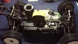 HoBao Hyper VS Nitro 80% ARTR 1/8 Buggy with Engine/Pipe and Electronics.