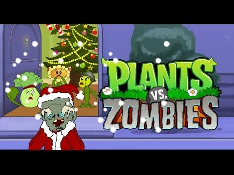 La aventura de Plantas vs Zombies ( Navidad 2016 )