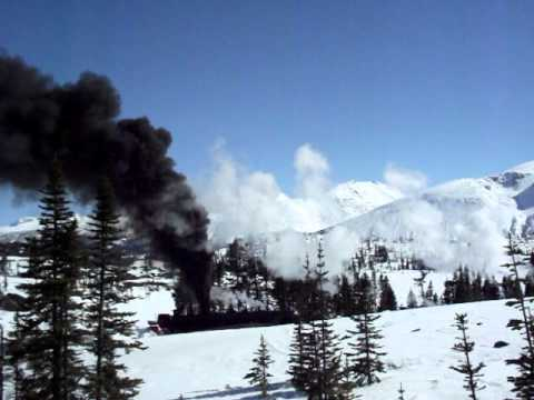 This video shows the operation of the historic steam locomotives and rotary snow plow of the White Pass & Yukon Route railway north of Skagway, Alaska, on April 27, 2011. See more videos as...