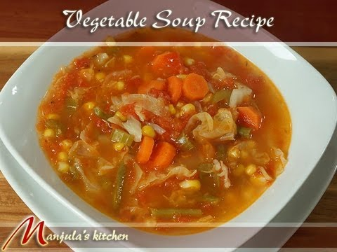 Vegetable Soup Recipe by Manjula Photo,Image,Pics-