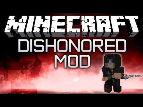 Minecraft: Dishonored mod - BLINK RUNE. CORVO'S BLADE & MORE!