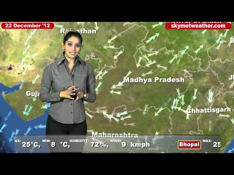 Skymet Weather Report - India December 22  2012
