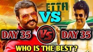 Viswasam VS Petta | Viswasam 35th Day VS Petta 35th Day Box Office Collection