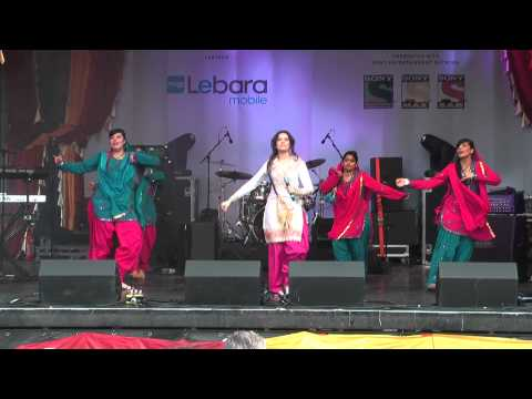 2 Beautiful Punjabi Bhangra Music Dance At Vaisakhi 2014 Trafalgar Sq London video