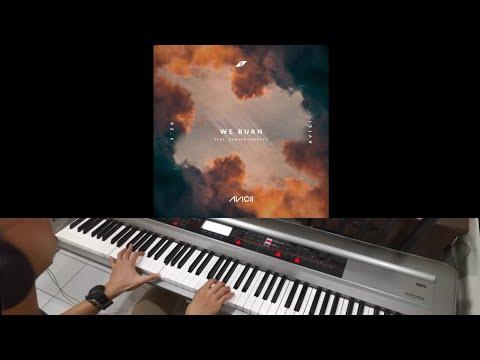 Avicii & Sandro Cavazza - We Burn (Faster Than Light) (Jarel Gomes Piano)