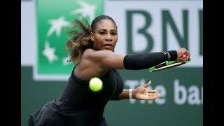 2018 Indian Wells Second Round | Serena Williams vs Kiki Bertens | WTA Highlights