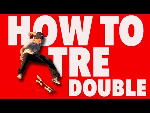 How To Tre Double Flip