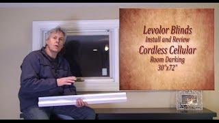Levolor Blinds Easy Install and Review