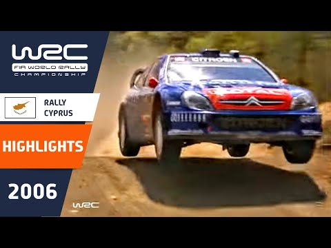 WRC Highlights: Cyprus 2006: 52 Minutes