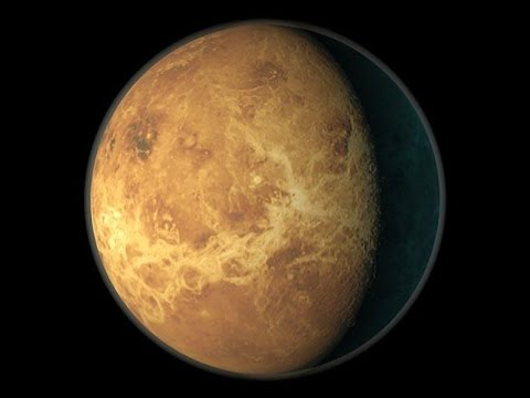 Путешествие по планетам  Венера и Меркурий