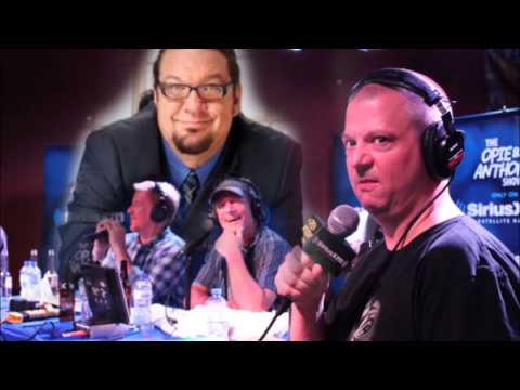 Opie & Anthony (and Jim) - Penn Jillette on Atheism
