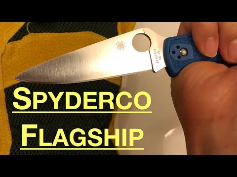 In depth review: Spyderco Endura 4 full flat grind