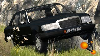 BeamNG.Drive Mod : Mercedes-Benz 300 E (Crash test)