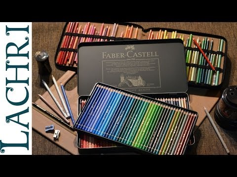 Prismacolor Vs Faber Castell Polychromos colored pencils w/ Lachri