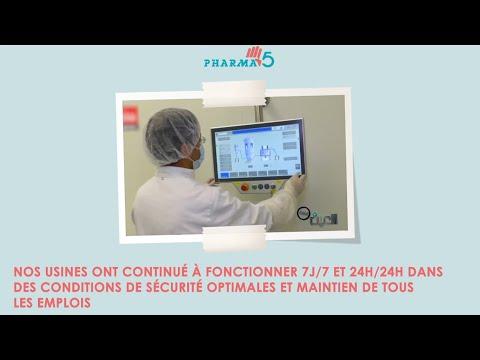 Pharma 5 s'est engagé dans la lutte contre la pandémie de la COVID-19