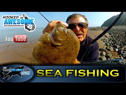 Sea Fishing from a Boulder Beach - TAFishing Show