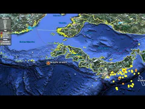 Major Earthquake in Miyazaki Kyushu Japan 6.1