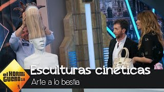 download musica Blanca Suárez alucina con las esculturas cinéticas de Félix Semper - El Hormiguero 30