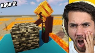 Last to Stop Punching Bedrock Wins 100,000 Diamond Blocks