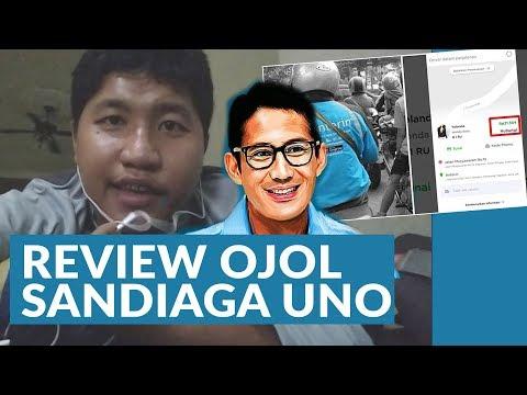 Review Ojol Buatan Sandiaga Uno - ANTERIN.