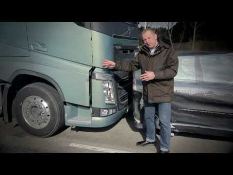 "Volvo Trucks - Testing Collision Warning with Emergency Brake - ""Trucks  Anatomy"" (E01)"