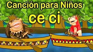 Canción ce ci - El Mono Sílabo - Videos Infantiles - Educación para Niños #