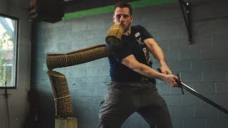 Champion Sword Cutting Techniques
