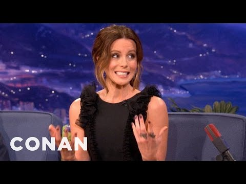 "Kate Beckinsale's Wild Night With ""Reverend Balls"" - CONAN on TBS"