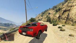 Grand Theft Auto V stunt video