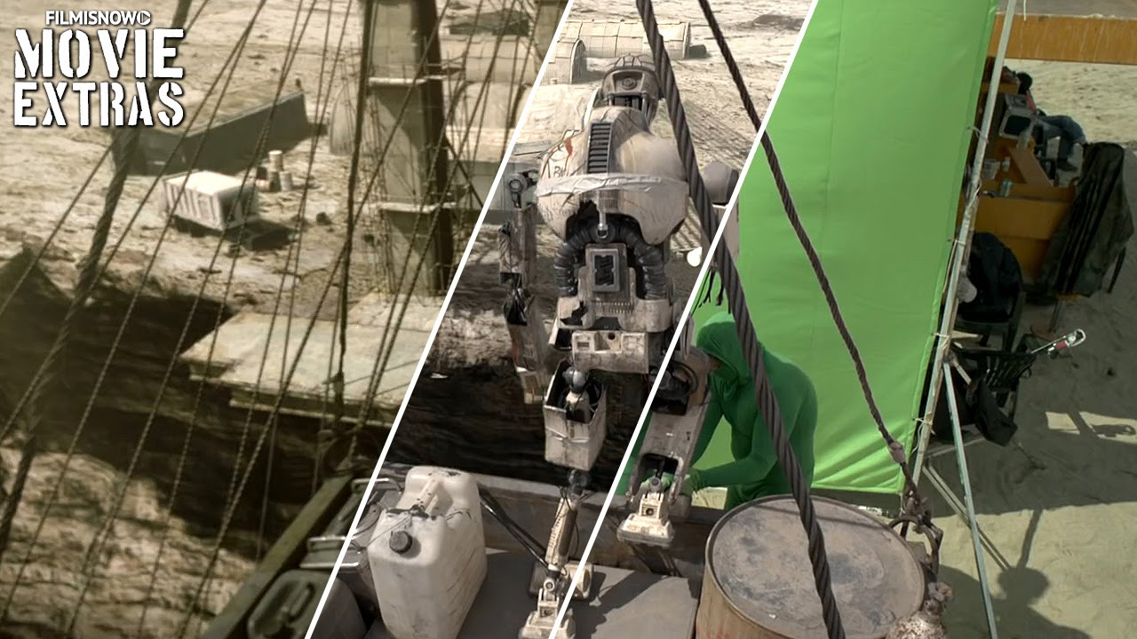 Automata - VFX Breakdown by Worldwide FX (2014)