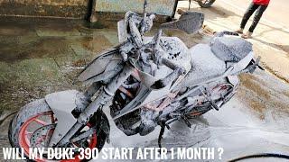 Will my Duke start after 1 month? | Octane Booster | Bike Maintenance