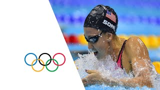 Rebecca Soni Breaks World Record - 200m Breaststroke | London 2012 Olympics