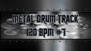 Simple Straight Metal Drum Track 120 BPM | Preset 3.0 (HQ,HD)