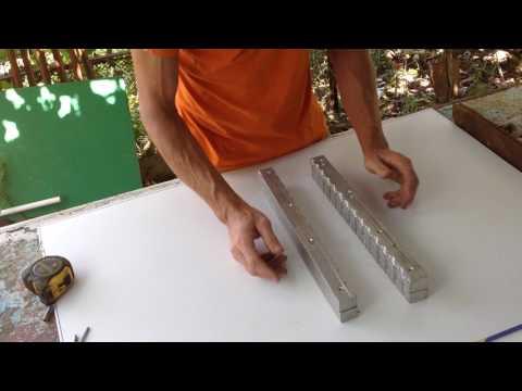 Сделать форму из алюминия своими руками