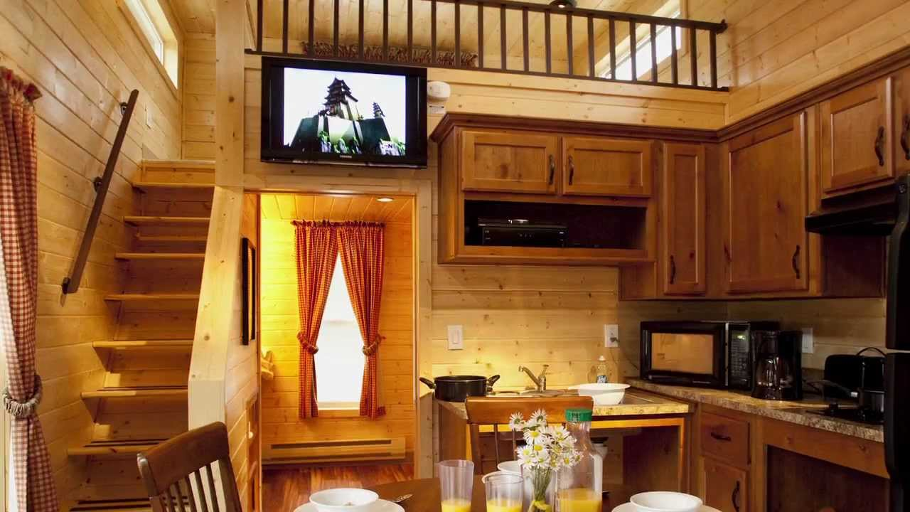 Check Out Koa S Deluxe Cabins Youtube