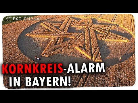 Kornkreis-Alarm in Bayern und UFO-Fotos der US-Marine - das neue ExoJournal